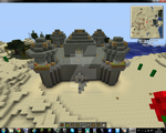 Minecraft Castle Step 5 [main fortress FINISHED] by NyinxDeLune