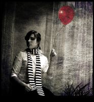 a red balloon by dincha