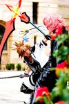 Sora and Marluxia - Fight by K-tetsu