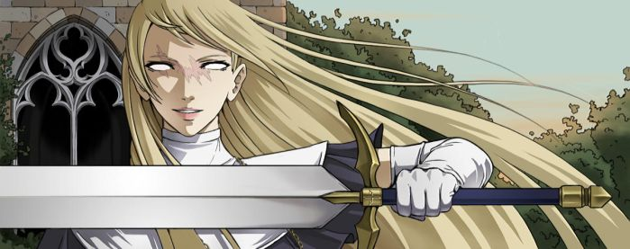 Claymore banner by Precia-T