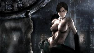 Lara Croft Black Rain by JuLeeYan80