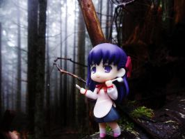 in the forest by kanakanafigures