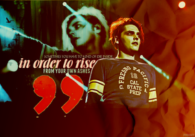 Gerard Way Quote #5 by FeeDouce