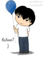 Blue Balloon by retARTed