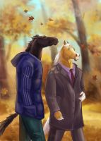 whisper of fall by Maddepos