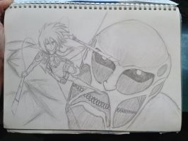 Attack on Titan! by gothic-frost