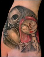 Jack and Sally by Anderstattoo
