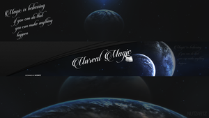 Unreal-Magic-Youtube-Banner-designed-by-NutArtz™ by NutzArtz
