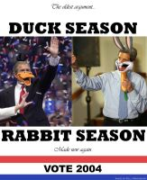Duck Season,Rabbit Season.VOTE by Pinkuh