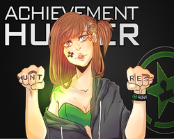 Achievement Huntress by pikmama