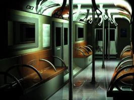 On a Subway Ride by SoutoAIPX