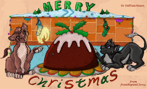 Christmas Pudding 2014 by FranThePan