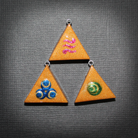 Triforce BFF pendants by SuperSiriusXIII