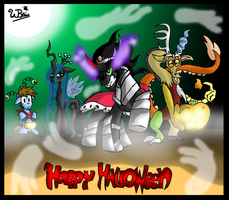 Spooks of Halloween by NeonCabaret