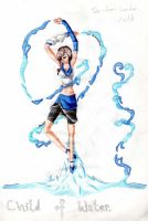 .Shindou. ::Child of Water::. by TiaVon