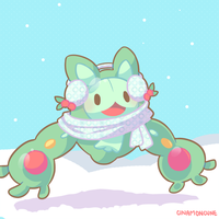 Day 15 - Reuniclus by Cuney