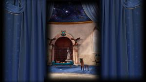 Pottermore Background: Ravenclaw Common Room by xxtayce
