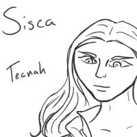PMOCT scetch Sisca by annarowlye