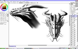 Dragon-Sketch-Reference-WIP2 by Unreal-Forever