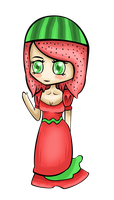 Commission: Watermelon Princess by valurauta