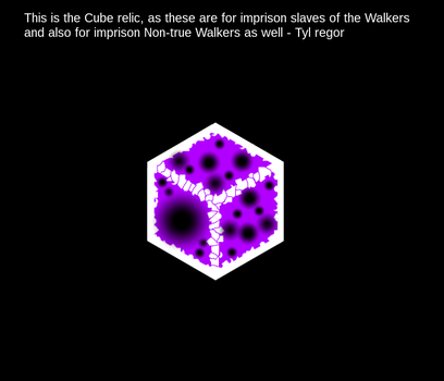 Cube relic by lilravo13