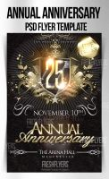 Anniversary PSD Flyer Template by ImperialFlyers