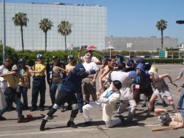Valve Gathering Anime Expo 2012 Left 4 dead 2 by stormx6