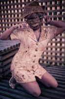 Silent Hill Nurse Cosplay by AngeruFee