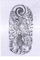 Koi Fishes by WillemXSM