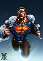 Clark Kent By Ardian Syaf-Colored by royhobbitz