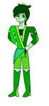 Male Emerald by anglewithagun
