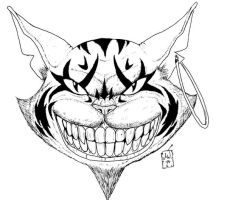 Cheshire Cat by DarkZuriel