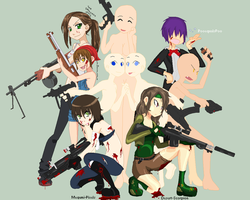 Zombie Hunters tag collab by TheDarknessWolf