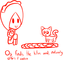 Backlog: Os and the kitty by Jymaru