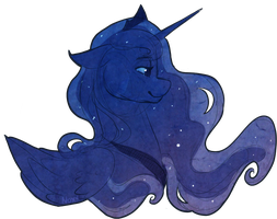 Luna Sketch by Noxx-ious