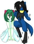 Kirlia and Riolu TF TG 2 by AkuOreo