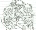 Mah 5Ds XD '5 dragons' by bluemoonblade