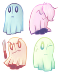 ghost family by perrierra
