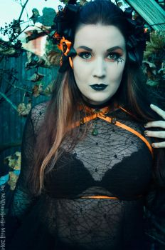 Halloween Gothgirl by MADmoiselleMeli
