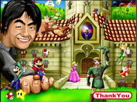 Tribute to Shigeru Miyamoto by christianbest