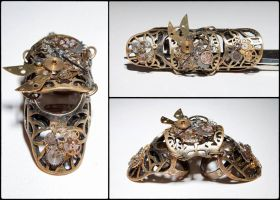 Steampunk Ring by DeZzibELl
