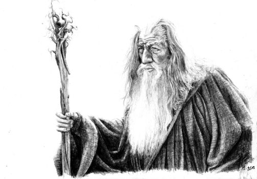 Gandalf by MaltePawelek