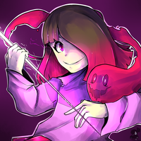Betty Glitchtale by RandomColorNice