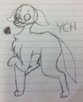 CLOSED YCH AUCTION (will be made digital) by homotrash