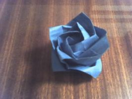 Kawaski ROSE WHEEHAW _origami_ by Angel-of-frantic
