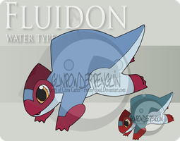 Fake Pokemon - Fluidon by Prinny-Dood