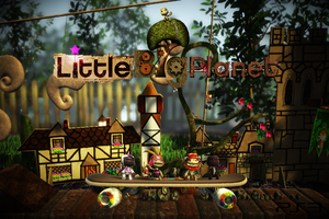 Little Big Planet Wallpaper by CrossDominatriX5