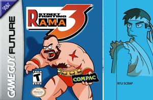 WIP Street Fighting Rama 3 by mantarosan