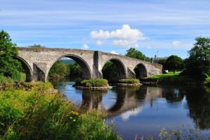 Stirling, the old bridge by dcheeky
