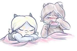 I got a toothache! by ScittyKitty